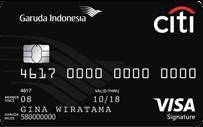 Kartu Kredit Garuda Indonesia Citi