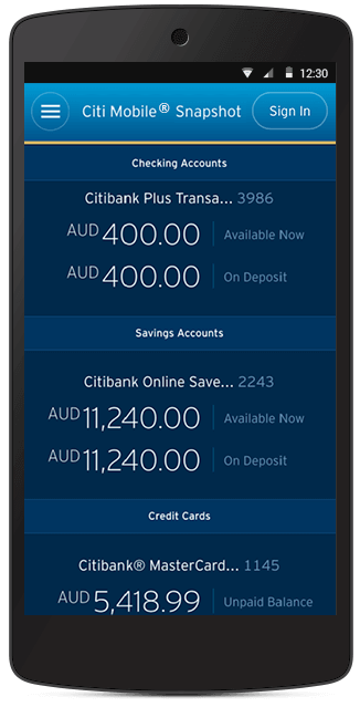 Citibank forex card balance checking