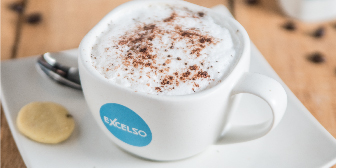 Beverages at Excelso Every Friday