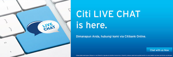 Citibank Secure Login >> Citibank Indonesia