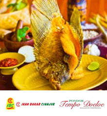 Ikan Bakar Cianjur and Pondok Tempo Doeloe