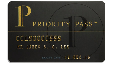 Citigold Priority Pass Credit Card