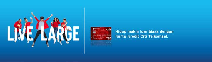 Telkomsel Credit Card Online