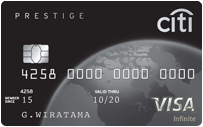 Citi Prestige elite credit cards