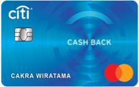 Kartu Kredit Citibank Cash Back