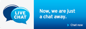 live chat banner